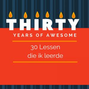 30 lessen die ik leerde